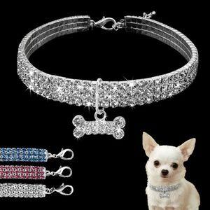 Fancy Puppy/Kitty Diamond Collar